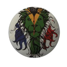 South-African-Range-Lion-Clock