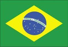 De vlag van Brazilie. Meer weten over dit land? Lees Duh Brazilië! https://itunes.apple.com/nl/book/duh-brazilie/id840414286?mt=11&uo=4 Ook superhandig voor je spreekbeurt of werkstuk trouwens!