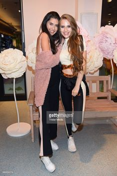 Ana Lisa Kohler and Lisa-Marie Schiffner attend the 'Lvly' care series launch by Paola Maria and DM Drugstore at Invalidenstrasse on July 2018 in Berlin, Germany. Avatar, Wattpad, Berlin Germany, Product Launch, Hair, Marvel, Inspiration, Motivation, Girls