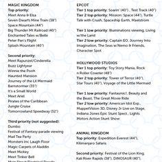 Free touring plans for Magic Kingdom, Epcot, Animal Kingdom, Hollywood Studios All Disney World Parks, Walt Disney Parks, Disney World Florida, Disney World Vacation, Disney Vacations, Disney Travel, Disney World Tips And Tricks, Disney Tips, Disney Love