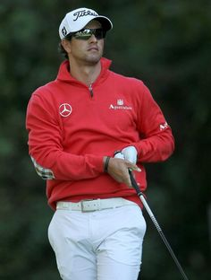 adam scott, you are one attractive australian...
