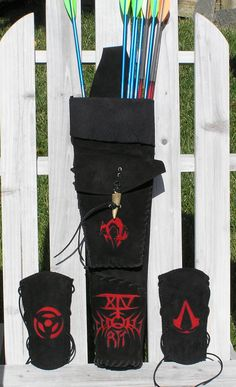 Custom Order for Giren Archery Back Quiver & by TrishasTreasure, $180.00
