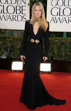 Kate Hudson in Alexander McQueen 2013 Golden Globes - I love her and this dress is gorgeous.