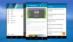WordPress for Android just got a Material Design makeover. #android #materialdesign