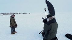 Sasha Leahovcenco's trip into deep Tundra, where nobody lives except small tribal groups of reindeer herders.