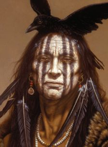 Kirby Sattler Art. Native American Art Portraits. - NATIVE AMERICAN ART PRINTS