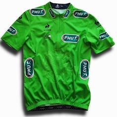 2014 le coq sportif tour de france #green #cycling jersey top (label #size: xl),  View more on the LINK: http://www.zeppy.io/product/gb/2/201687305218/