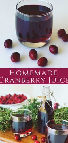 A homemade Cranberry Juice recipe that's delicious and refreshing. Made from whole cranberries, full of vitamins, sweetened with sugar or honey. A perfect summer drink, or holiday treat. Cranberry Mors Drink (морс) Juice Drinks, Fruit Drinks, Yummy Drinks, Healthy Drinks, Healthy Juices, Fruit Juice, Beverages, Unsweetened Cranberry Juice, Low Calorie Fruits