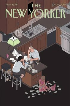 The New Yorker   Cover illustration by Chris Ware