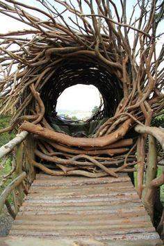 artpropelled: spirit nest by jayson fann