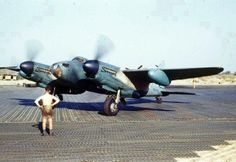 Nice colour picture of RAF De Havilland DH 98 Mosquito during WWII, 1945 at Kolkata, India