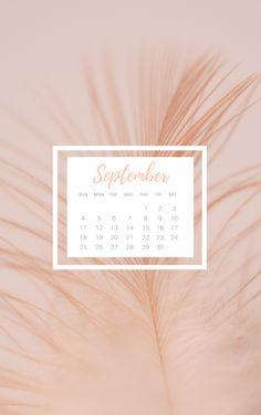 FREE September desktop and iPhone wallpaper download