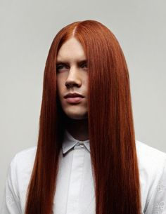 Bartek Borowiec (Polish Model) That Hair! Yes, it's real,