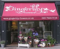 my sister's gorgeous flower shop. Nice logo huh!?