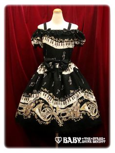 BNWT Alice and the Pirates Dance of the Black Cats JSK I and OTKs SET in Black « Lace Market: Lolita Fashion Sales and Auctions