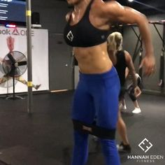 "4,937 Likes, 90 Comments - Hannah Eden (@hannaheden_fitness) on Instagram: ""A big thank you to the @mbslingshot @marksmellybell @lilsmokeyst for the dope #HipCircles that we…"""