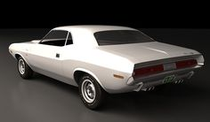 Vanishing Point - white 1970 Dodge Challenger R/T 440 Magnum