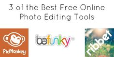 3 of the Best  Free Online Photo Editing Tools - http://360phot0.com/3-of-the-best-free-online-photo-editing-tools/