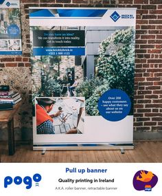 Customisable pull up banner template: urban Retractable Banner, Banner Printing, Banner Template, Carry On Bag, Printing Services, Ireland, This Is Us, Urban, Templates
