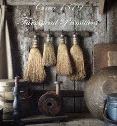 Old Farmstead Vintage Whisk/Wisk/Hand Broom Gathering | eBay