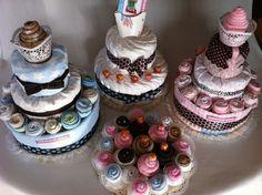 torte di pannolini   diaper cakes