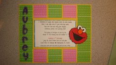 Elmo Theme by threeofakindmunchkin on Etsy, $4.00