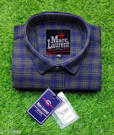 Checkout this latest Shirts Product Name: *Comfort Rich cotton Checked Shirt for Men* Fabric: Cotton Sleeve Length: Long Sleeves Pattern: Printed Multipack: 1 Sizes: M (Chest Size: 38 in, Length Size: 29 in)  L (Chest Size: 40 in, Length Size: 30 in)  XL (Chest Size: 42 in, Length Size: 31 in)  XXL (Chest Size: 44 in, Length Size: 32 in)  Country of Origin: India Easy Returns Available In Case Of Any Issue   Catalog Rating: ★4.1 (1880)  Catalog Name: Trendy Modern Men Shirts CatalogID_1136514 C70-SC1206 Code: 583-7119686-9911