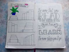 Bullet Journal – Books To Read | Creative Pink Butterfly