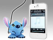 Disney Stitch USB Rechargeable Mini Speaker - bath time just got cuter! Lilo And Stitch 3, Stitch And Angel, Cute Stitch, Disney Stitch, Disney Cars, Speaker Drawing, Stitch Cartoon, Usb Gadgets, Ohana Means Family