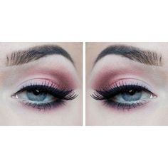 Pink eyeshadow, possible look. Makeup ❤ liked on Polyvore featuring beauty products, makeup, eye makeup, eyeshadow, eyes and beauty