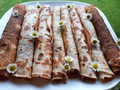 Szénhidrátcsökkentett palacsinta Dia Wellness -50 % lisztből - Salátagyár Asparagus, Sausage, 50th, Wellness, Vegetables, Recipes, Foods, Kitchen, Food Food