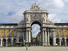 Anexo:Lista de arquitetos de Portugal – Wikipédia, a enciclopédia livre- Arco Triunfal da Rua Augusta de Eugénio dos Santos e Manuel da Maia