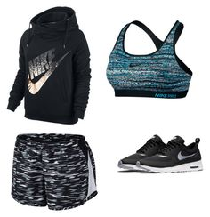 """""""Nike Sportswear"""" by tay-5702 on Polyvore featuring NIKE"""