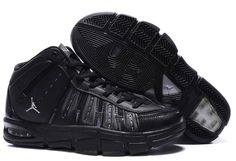new concept a5f0d 9811f Jordan Melo M7 Carmelo Anthony Shoes All Black Sport Nba Store, Basketball  Shoes, Kevin
