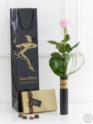 Single Pink Rose Gift Set