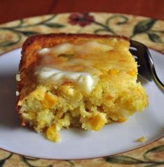 Mexican Cornbread - This is the best Cornbread you've ever put in your mouth. It never even gets a chance to cool at our house before it's all gone.... (click image for recipe) #mexican cornbread #jalapeno cornbread