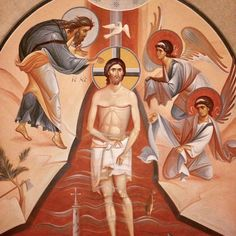 The #OrthodoxChurch celebrates the #Baptism of the Lord today! At the beginning of his public ministry, #JesusChrist was baptised in the #JordanRiver by Holy #ProphetJohn the #Forerunner. His baptism gave us the model of the #Sacrament through which every human being enters the Church. The Lord sanctified all waters by his baptism. The #GreatConsecration of Waters is performed in the #Church both on the day of the feast and on its eve.