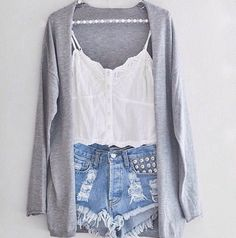 love the cardigan and top