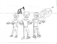 Oil company zombies