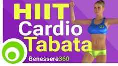 Dimagrire Velocemente con il Cardio TABATA HIIT - Workout 30 Minuti