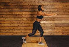 8. T-Rotation Lunge #greatist https://greatist.com/fitness/resistance-band-core-exercises-massy-arias