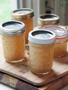 Lemongrass and ginger jelly recipe