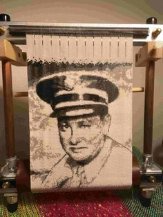 Grampa Kenney, WWII Corps of Engineers, on Mirrix Loom Loom Beading, Engineers, Pictures Of You, Unique Art, Wwii, Thankful, Tapestry, Symbols, Projects