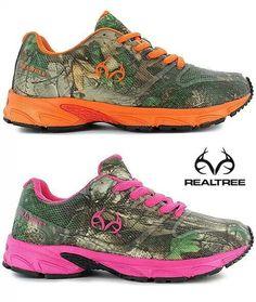 Team Realtree Camo Tennis Shoes
