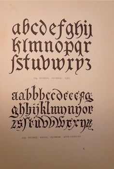 """BIBLIOTYPES: LEWIS F. DAY. """"Alphabets Old & New"""""""