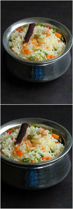 Assamese Sweet Vegetable Pulao