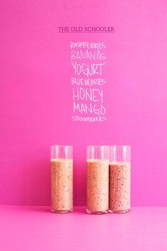 berry shake recipe | designlovefest