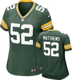 Green Bay Packers Women's Jersey: Home Green Color Nike #packers #nfl #football