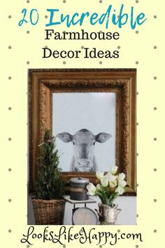 20 Incredible Farmhouse Decor Ideas for your Home! - Looks Like Happy  #farmhouse #farmhousedecor #home #homedecor