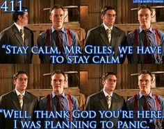 Giles sarcasm at it's finest